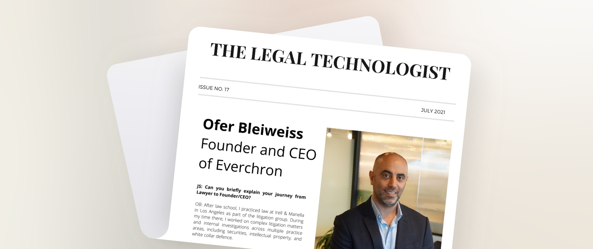 Future of Law Interview